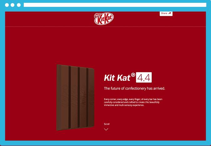Parallax Tendencias molonas de diseño web para el 2014