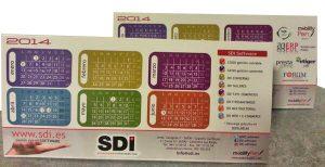 Calendario SDI 2014