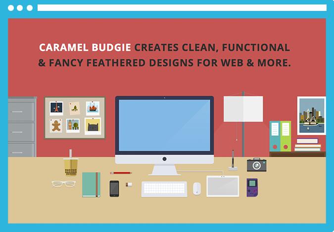 flat Tendencias molonas de diseño web para el 2014