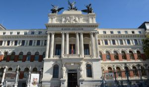 Sede del Ministerio de Agricultura, en Madrid