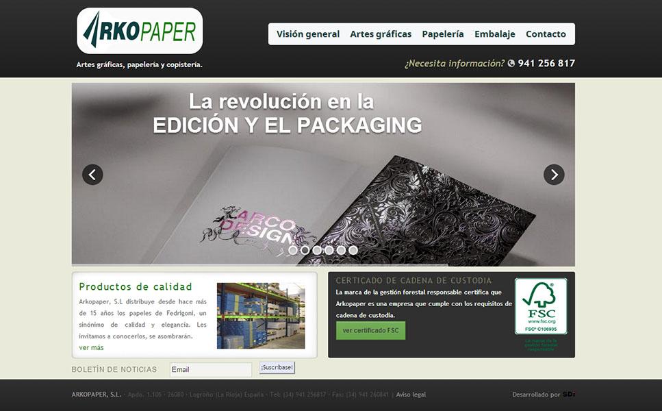 Arkopaper - www.arkopaper.es