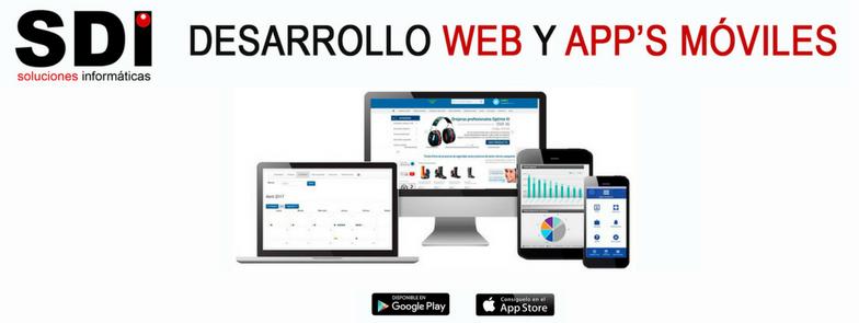 Desarrollo web y apps móviles