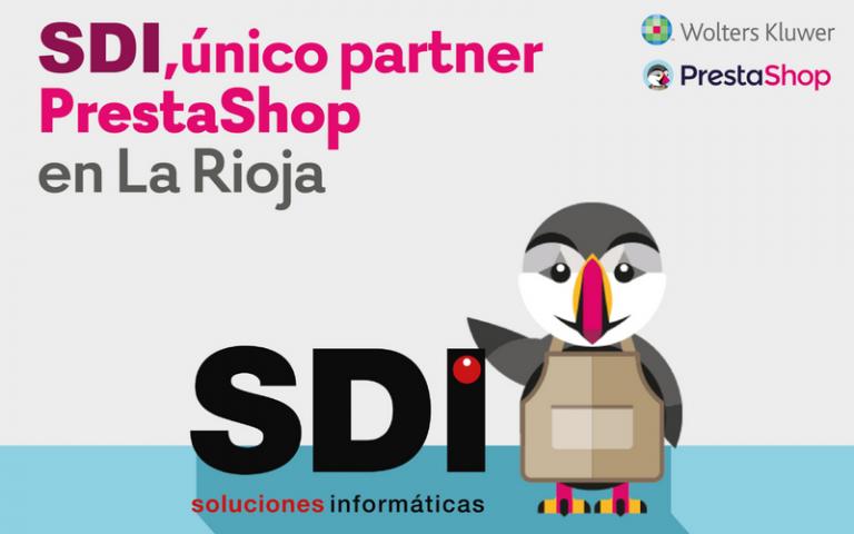 SDi único partner de prestashop en La Rioja
