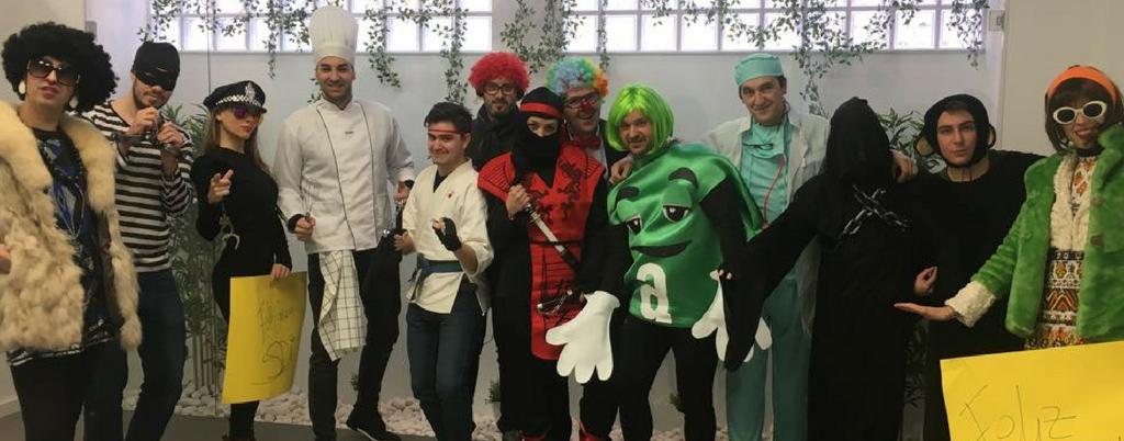Carnaval en las oficinas SDi de Logroño