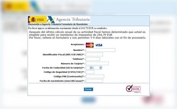 Virus Agencia Tributaria