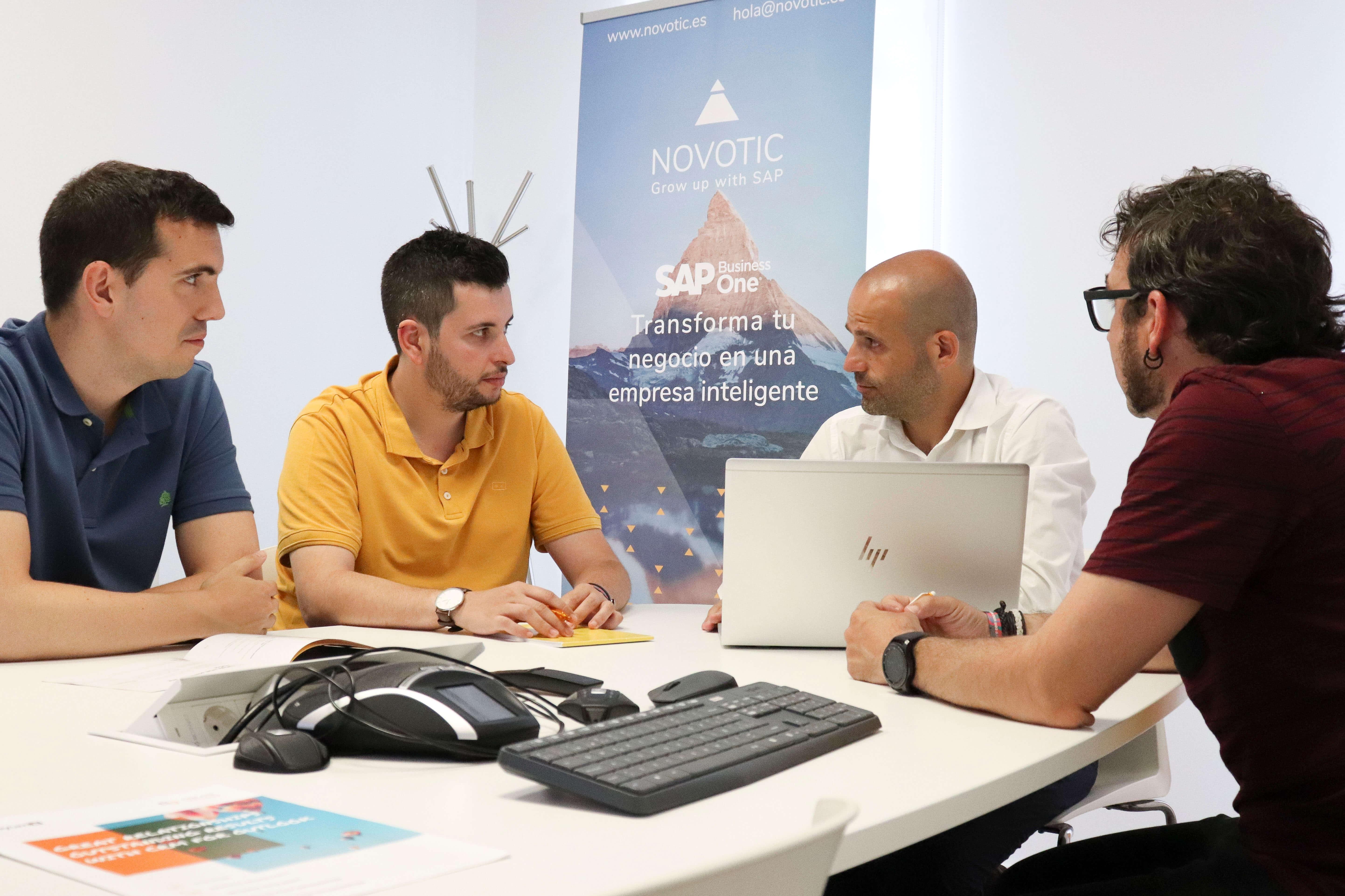 Nace NOVOTIC, la empresa riojana especializada en SAP 1