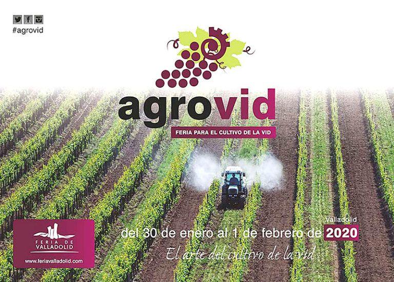 Cartel anunciador de Agrovid