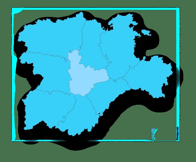 Mapa de asesorías en vallaodlid