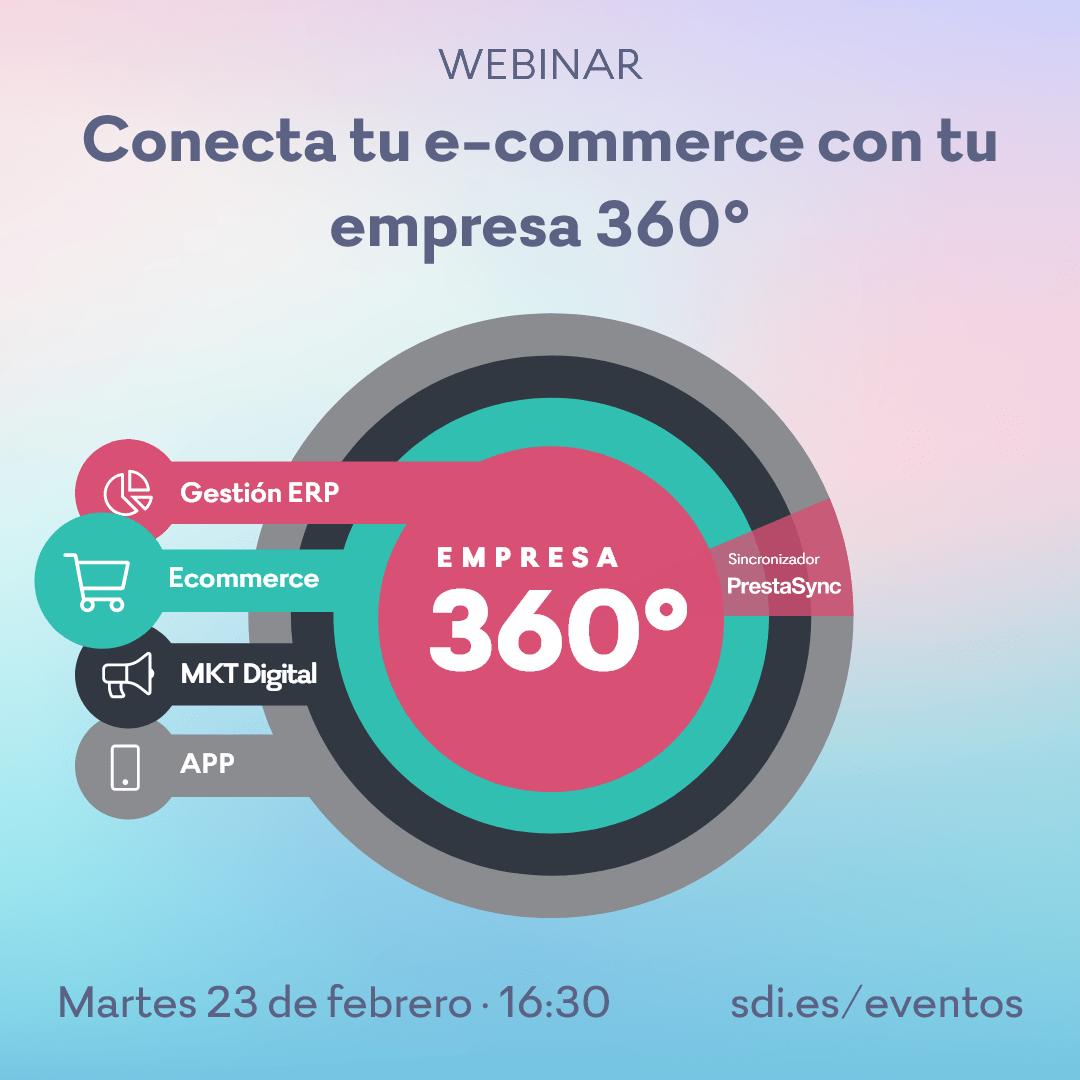 Conecta tu e-commerce con tu empresa 360º