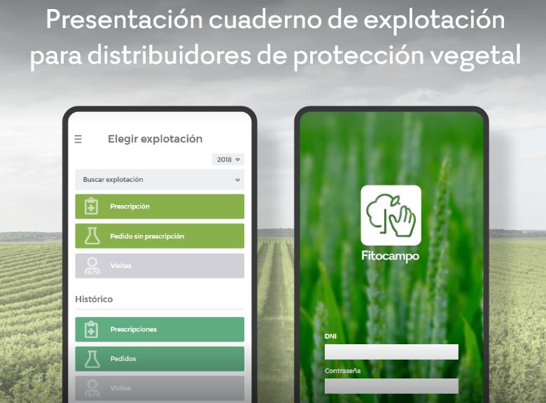 Fitocampo: Cuaderno de explotación para empresas de tratamientos fitosanitarios