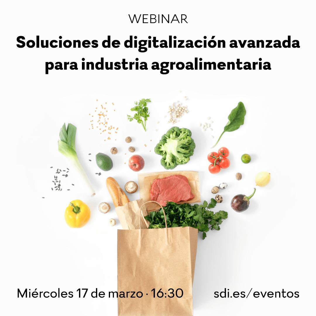 Soluciones de digitalización avanzada para la industria agroalimentaria.